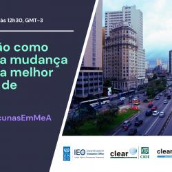 Lançamento da Global Evaluation Initiative na América Latina e Caribe